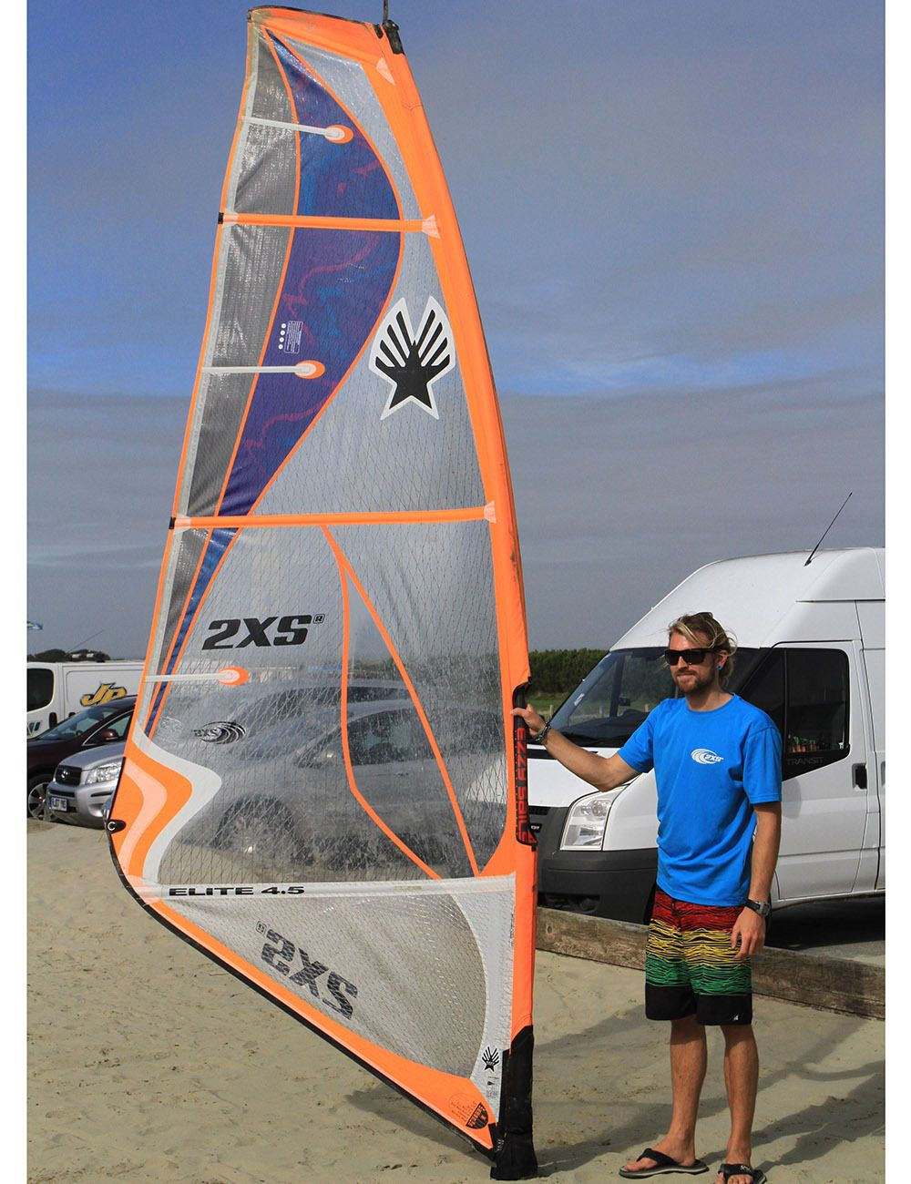 Ezzy #elite 4.5m sail 2016 #windsurf,  View more on the LINK: 	http://www.zeppy.io/product/gb/2/152311614226/