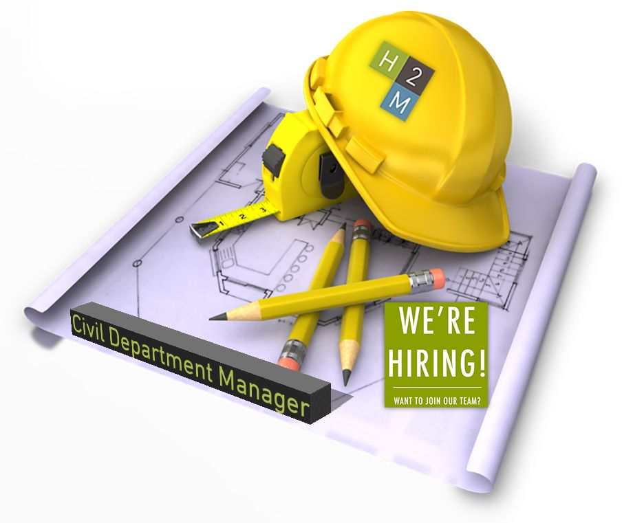 We're Hiring! Civil Department Manager 1015 years of