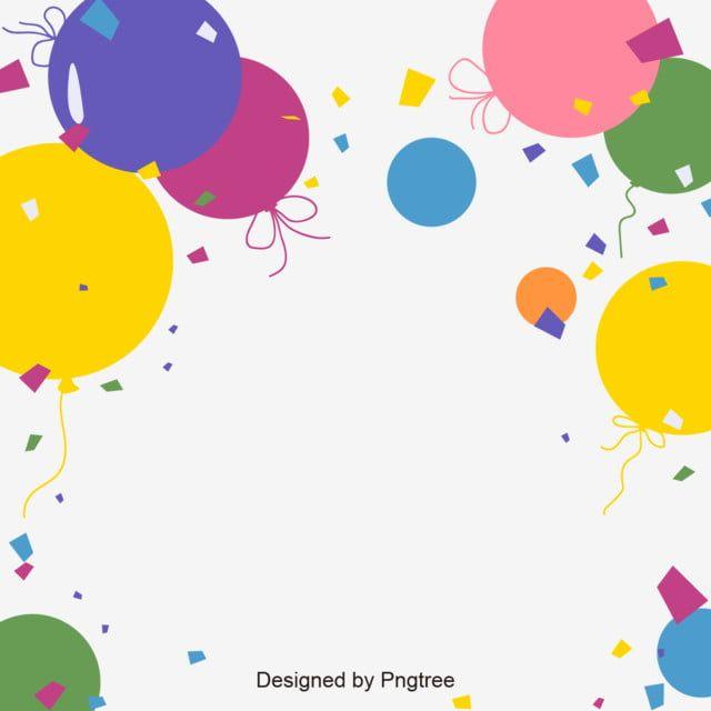بالون الخلفية بالونات عيد ميلاد Clipart بالون اللون Png والمتجهات للتحميل مجانا Baloes De Parabens Balao De Fundo Montagem De Banner