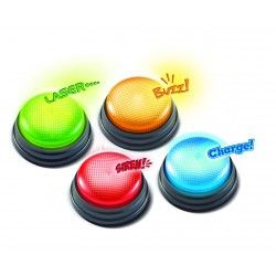 Set of 4 Elektrisches Spielzeug Learning Resources Answer Buzzers