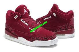 reputable site 48ef6 62dea ... best price burgundy jordan 3 suede cement 62.39 72923 0cac0