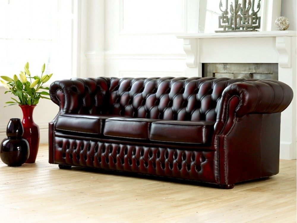 Leather Chesterfield Couch Sofas Photo