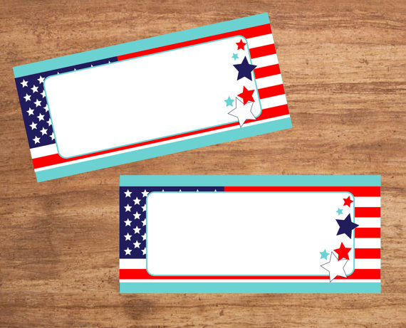 Instant Download Patriotic 4th of July American flag party Tent Cards Seating Cards for sale on  sc 1 st  Pinterest & Instant Download Patriotic 4th of July American flag party Tent ...