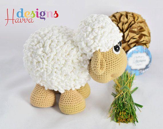 Crochet Pattern Cute Sheep Amigurumi Toy Pattern Häkeln