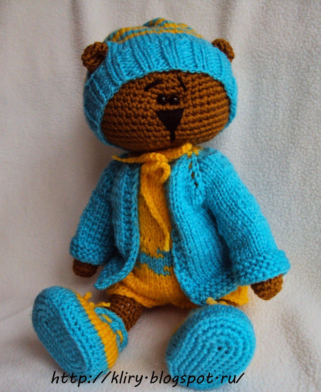 http://kliry.blogspot.ru/2015/01/blog-post_17.html | Amigurumi Bears ...