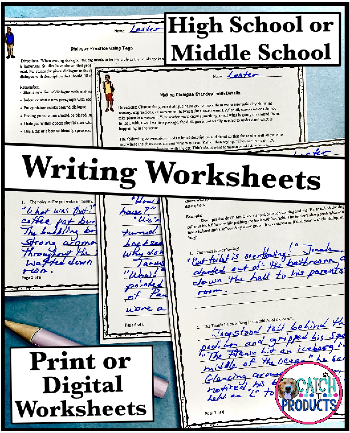 Digital Work On Writing Dialogue Tips For High School Or Middle School Students Teaching Writing Digital Writing High School [ 1522 x 1228 Pixel ]
