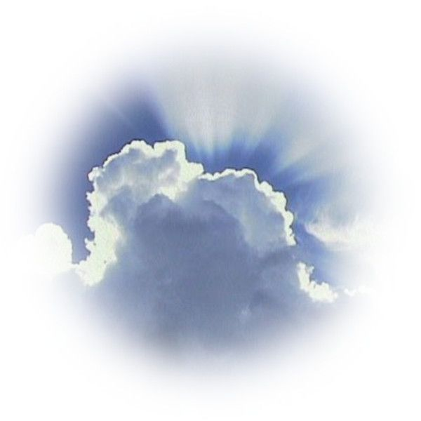 Clouds ❤ liked on Polyvore featuring clouds, sky, backgrounds, effects, tubes, fillers, circle, circular and round