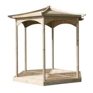 Altana Stelmet Outdoor Structures Pergola Gazebo