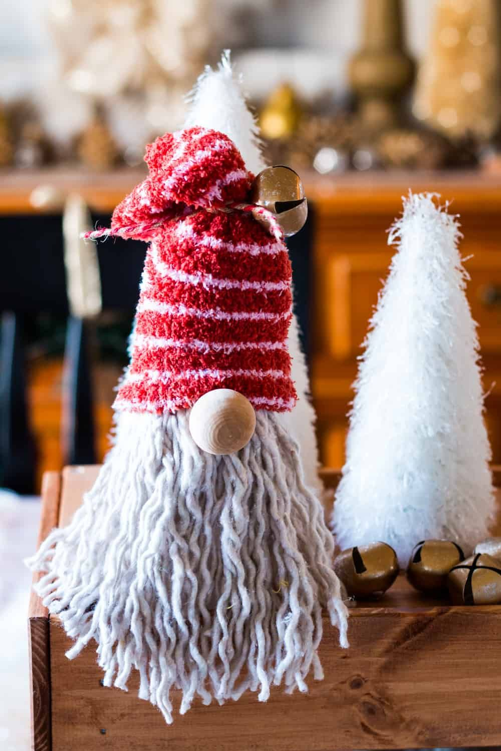 DIY Dollar Tree Gnome for Christmas in 2020 Dollar store