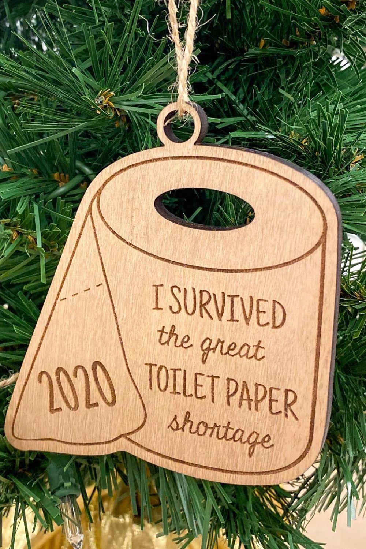 2020 Christmas Tree Shortage 2020 Christmas Tree Ornament / Toilet Paper Shortage in 2020
