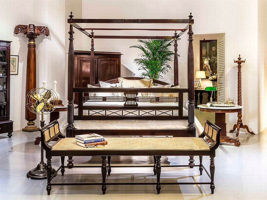 British Colonial India Interior Design
