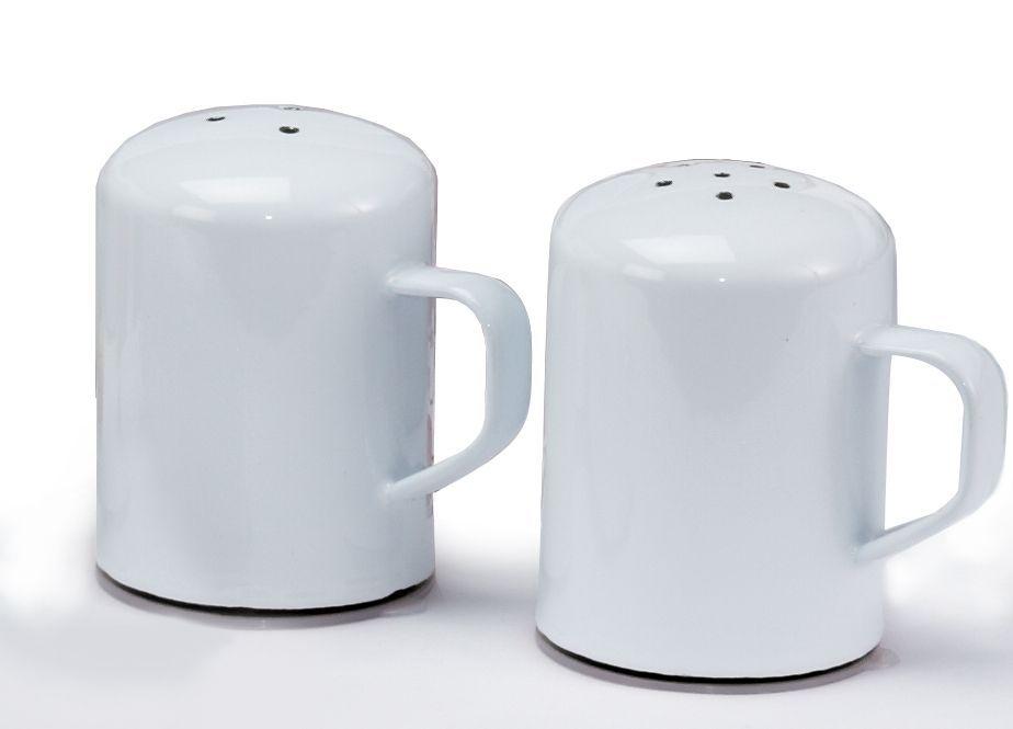 Enamelware Salt & Pepper Shaker Set