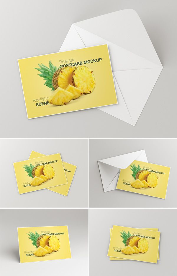 Postcard Invitation Card Mockup Psd Postcard Mockup Mockup Postcard Design