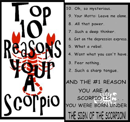 Character Contest 49: Scorpio!