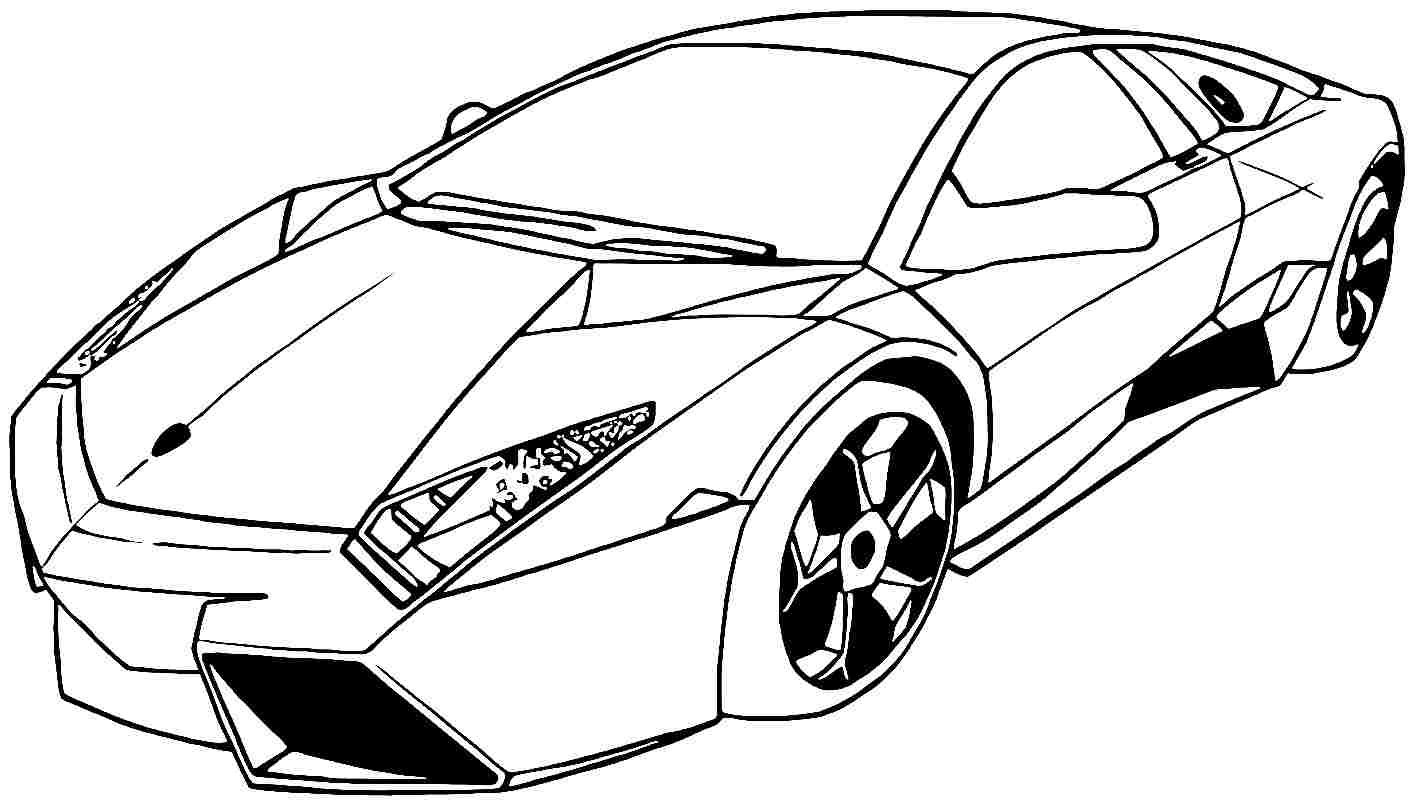 Liberal Car Colouring Pictures Coloring Page Pages And
