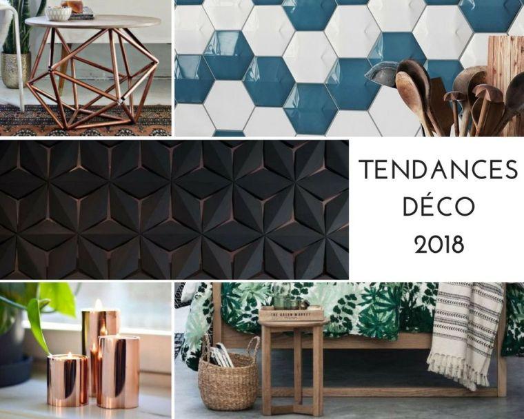 Tendance déco 2018 zoom sur les éléments design à garder ou à adopter pour lannée à venir