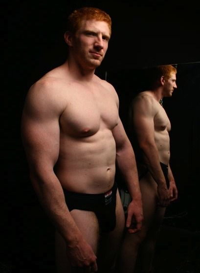 red head gay muscular