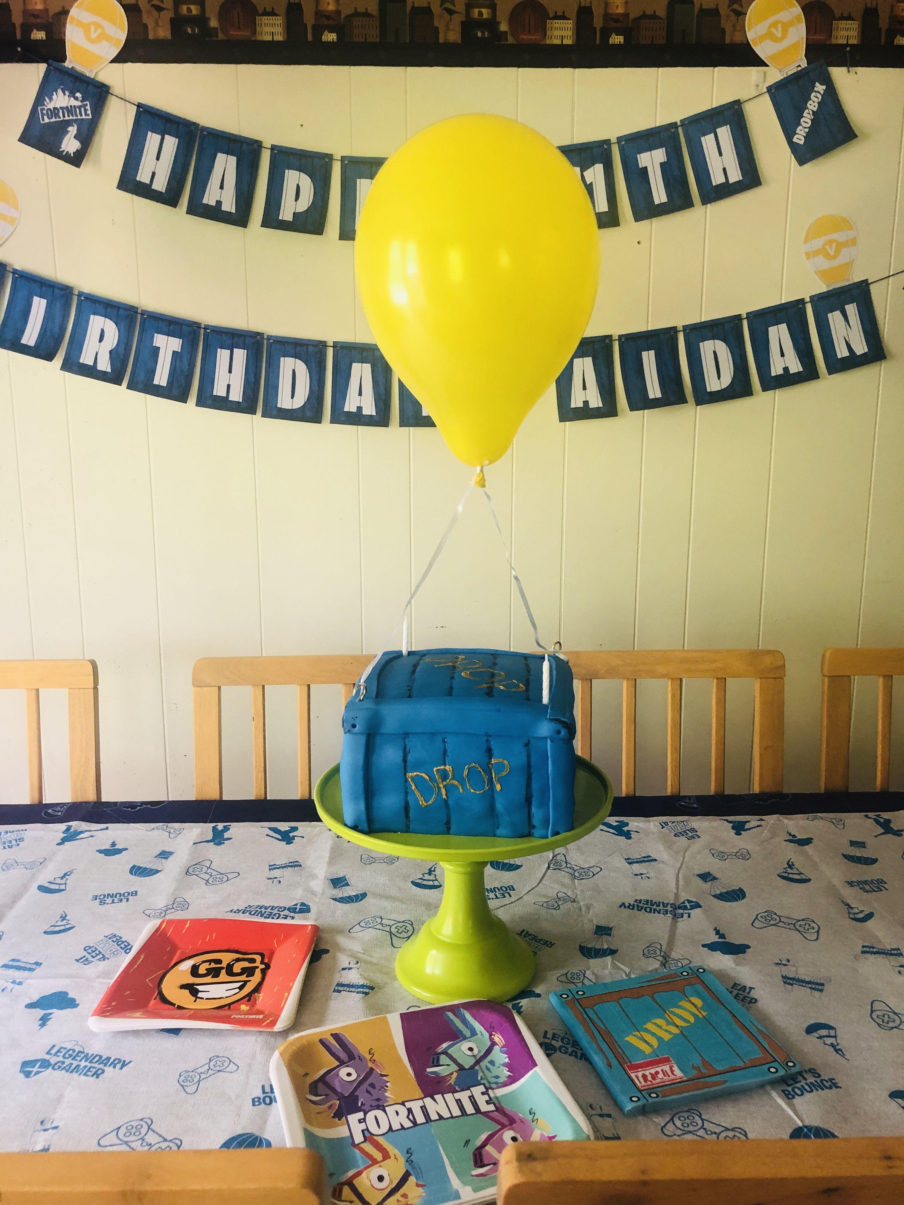 Fortnite birthday cake Birthday, Birthday cake, Decor