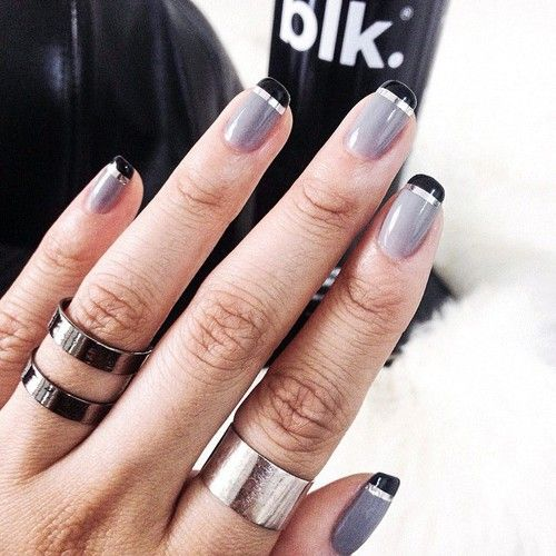 #Accessories, #Colorful, #Fashion #nails - Nail art.