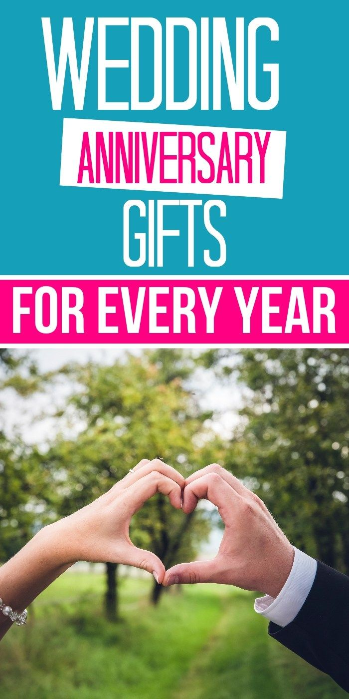 Wedding anniversary gifts by year: What are the ...