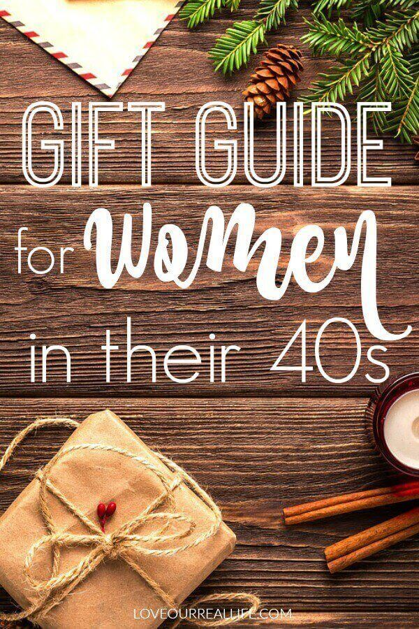 Gift Guide For Women In Their 40s Looking A Woman Her This Has You Covered Gifts Staying At Home Jewelry