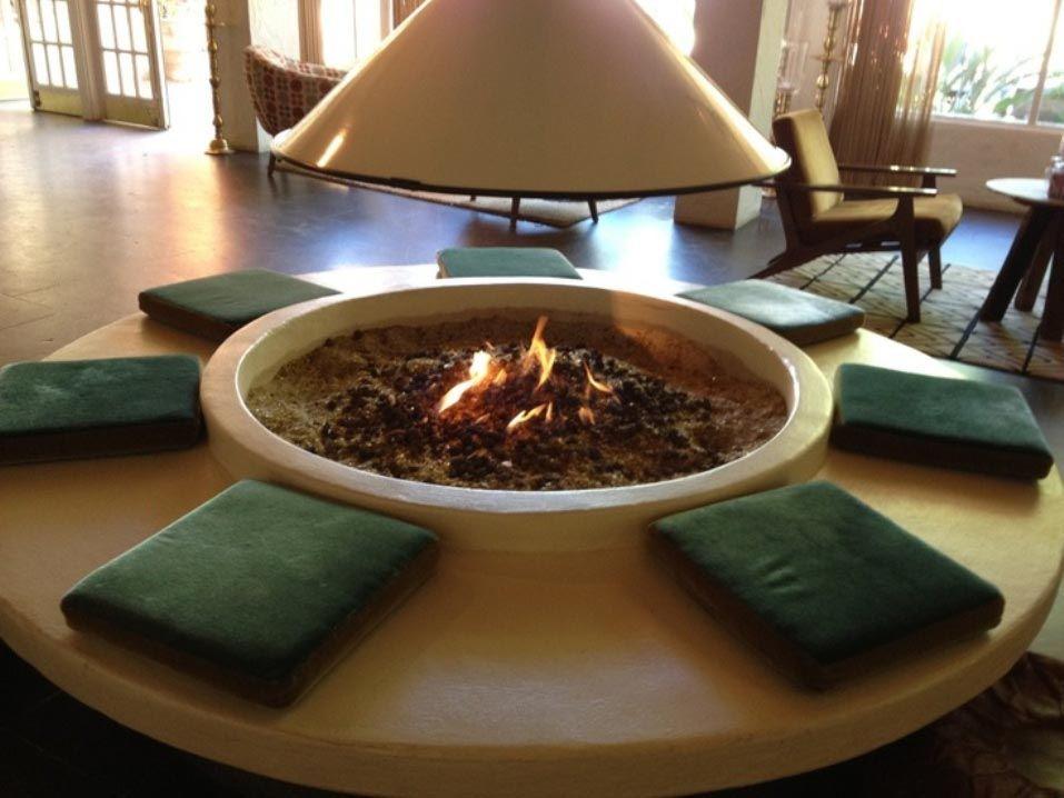 indoor fire pit diy - Versunkene Feuerstelle Designs
