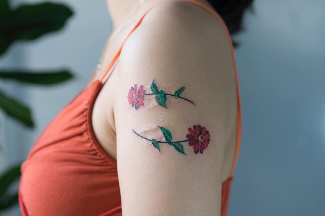 Pin by emma on aesthetic tattoos upper arm tattoos