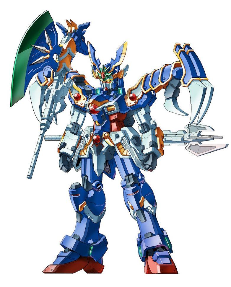 Musha Sengoku X Gundam Collaboration Illustrations Poster Images Gundam Kits Collection News And Reviews Gundam Gundam Art Illustrations Posters