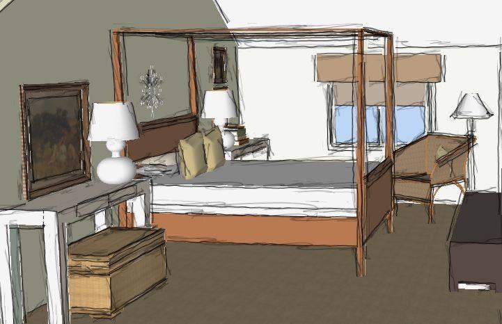 Room Design Using Sketchup My Hommie Pinterest