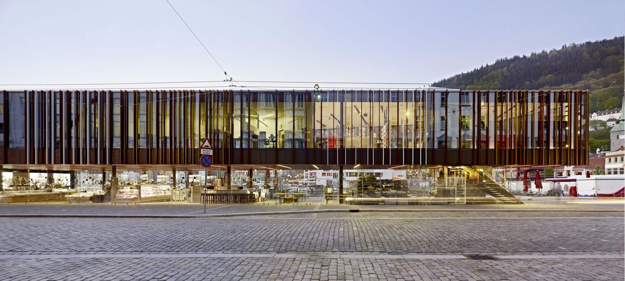 Gallery Of Fish Market In Bergen Eder Biesel Arkitekter 17