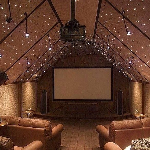 This Home Theater By #PorchPro Halifax Homes Puts A