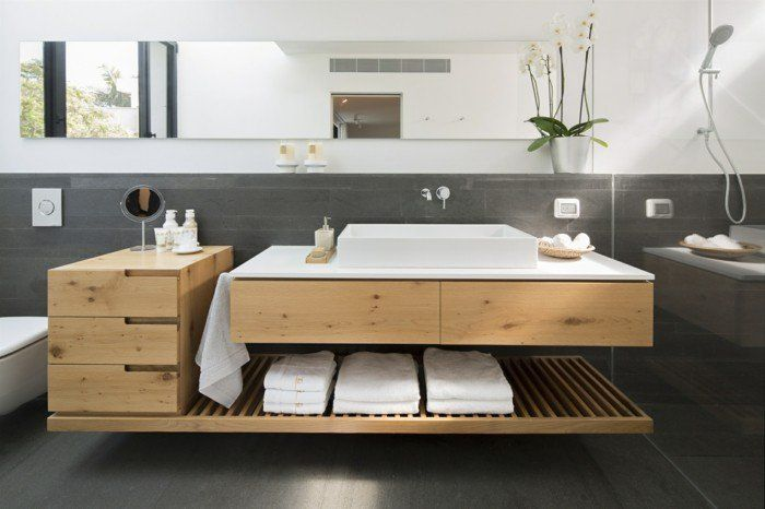 Badezimmer Mit Holz Was Muss Beachtet Werden Badezimmer Holz Badezimmer Waschtisch Klein