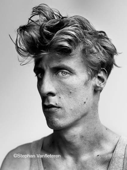 Rinus Van De Velde (1983) - Belgian artist. Photo © Stephan Vanfleteren