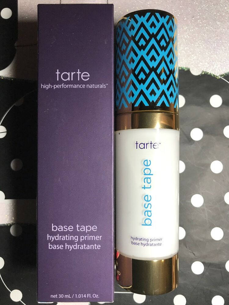 Tarte Double Duty Base Tape Hydrating PrimerJust Released