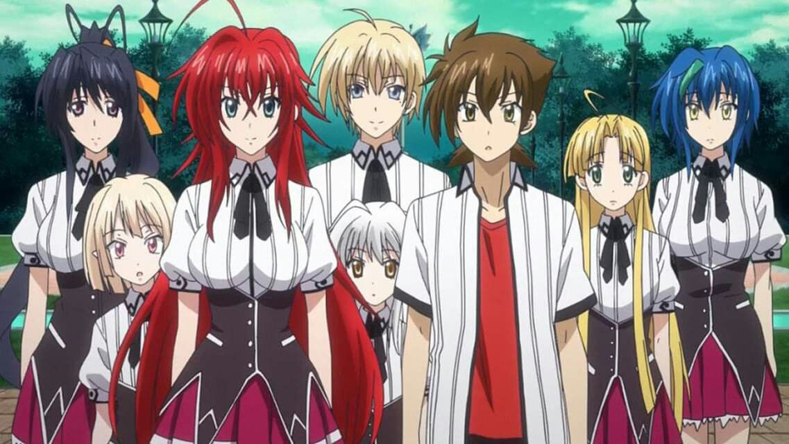 Pin By Justin Yahoudy On Highschool Dxd Rias In 2020 Dxd