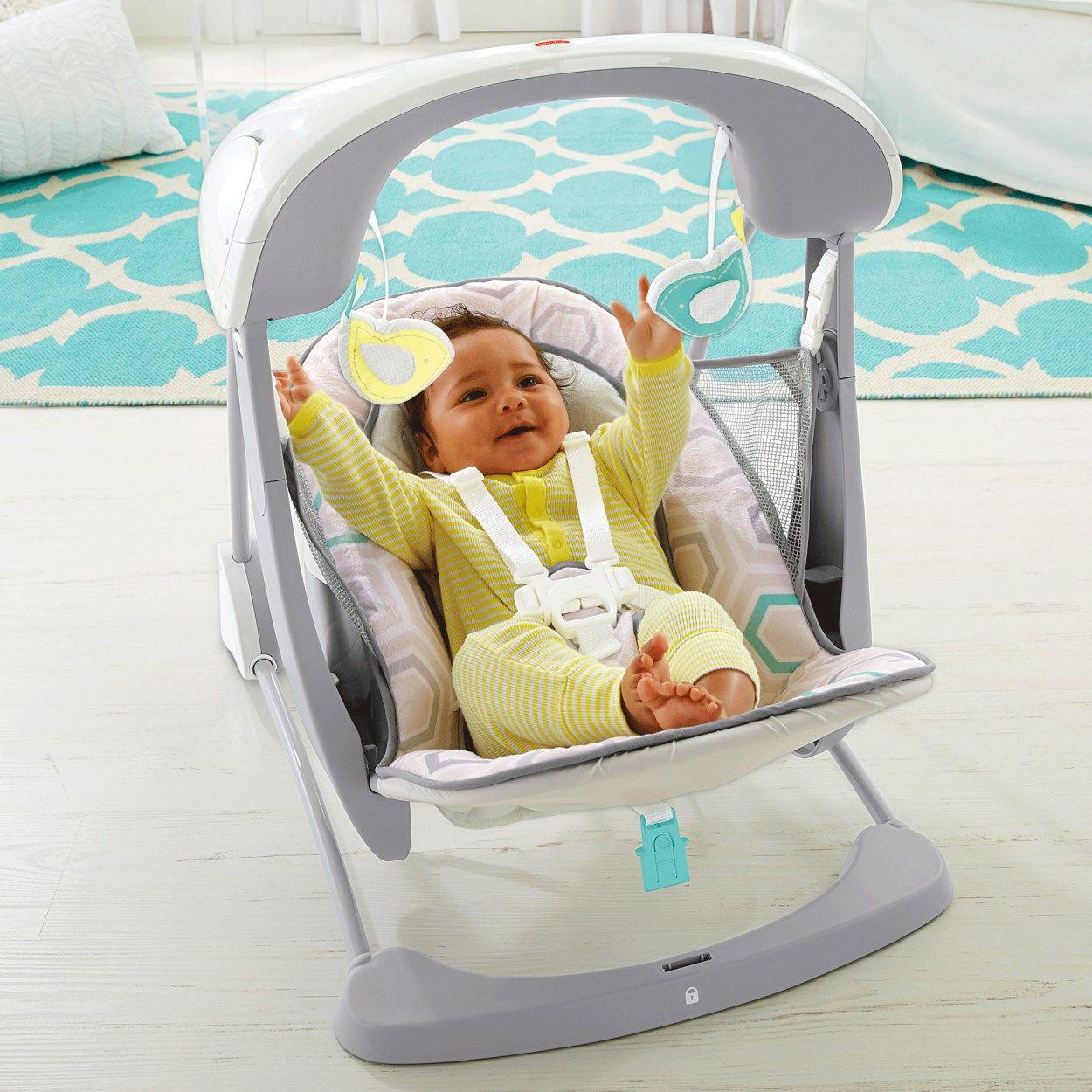 Deluxe TakeAlong Swing & Seat Saturn Snuggle Swing