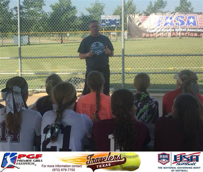 https://flic.kr/p/JrTMCk | Randy Schneider | The Texas Travelers joined with Coach Randy Schnieder, Iowa State Assistant Softball Coach. The girls spent 5 1/2 hours working collegiate softball drills hitting, fielding, base running and different aspects of the game.