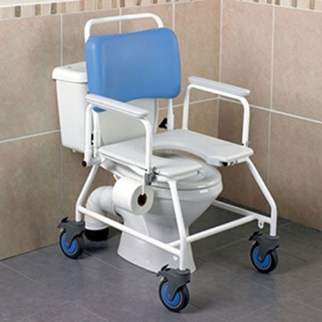 Wheeled Commode Shower Chair | Wheels - Tires Gallery | Pinterest ...