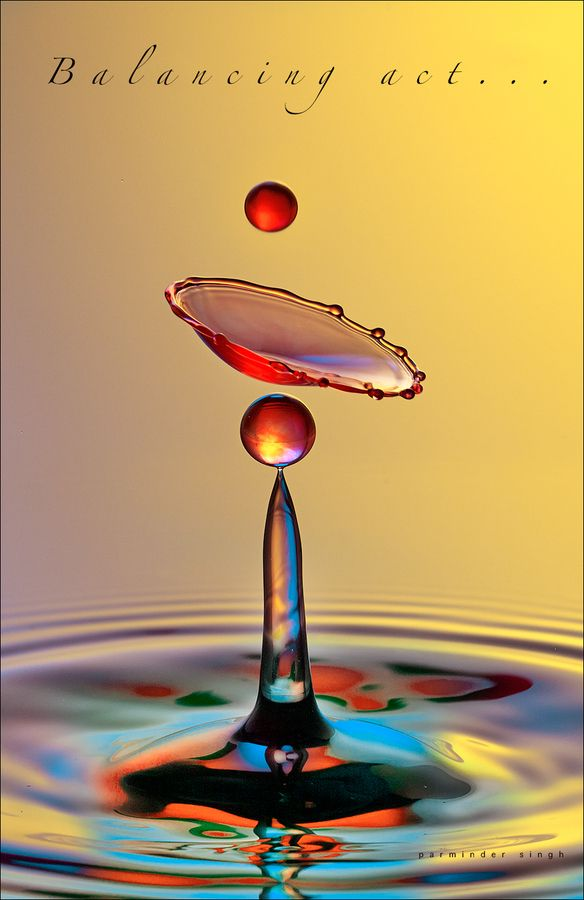 colorful water drop so Magical :)