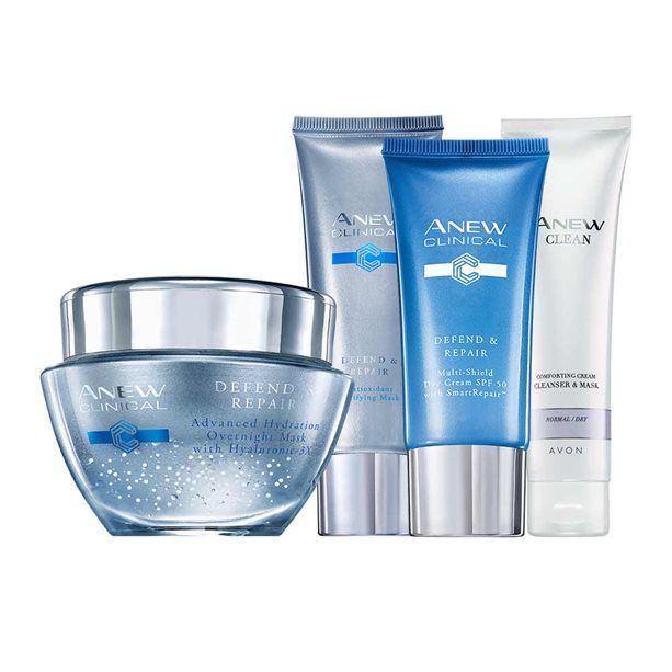 Health & Beauty Avon Anew Clinical Defend And Repair Advanced Hydration Over Night Face Mask Skin Care