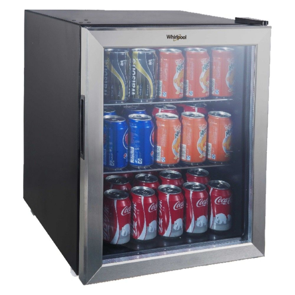 Whirlpool 2 7 Cu Ft Mini Refrigerator Beverage Center Stainless