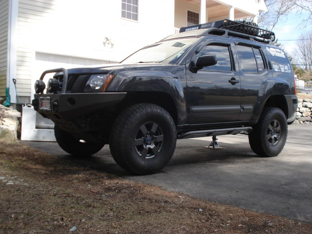 Xvter black blue second generation nissan xterra forums 2005 off road