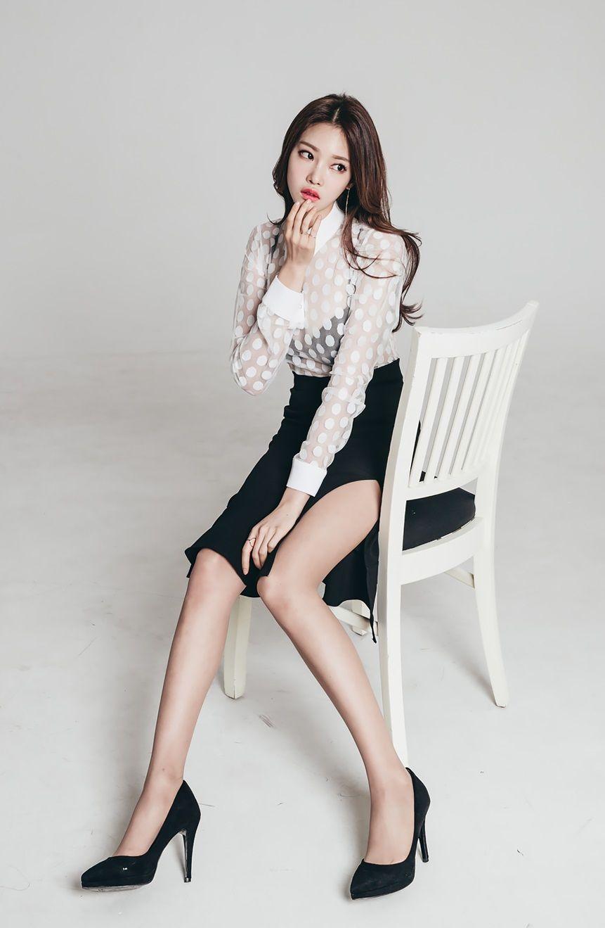 fashion model nude Korean