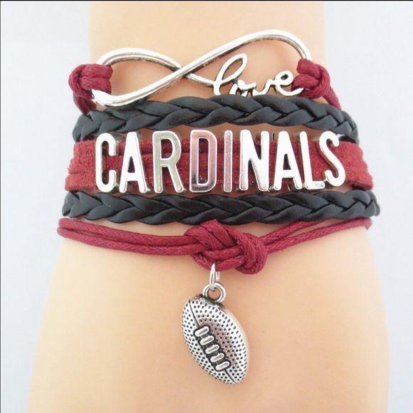 Arizona Cardinals Football Bracelet Nwt 5 Left New In Package Price Firm Unless Bundled Jewelry Bracelets