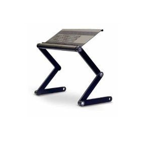 This Laptop Table By Furinno With Adjustable Folding Legs Could Be Used As  An Ad