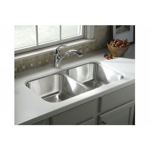 Sterling 11406 na mcallister mcallister series double basin sterling 11406 na mcallister mcallister series double basin undercounter kitchen sink stainless steel efaucets workwithnaturefo