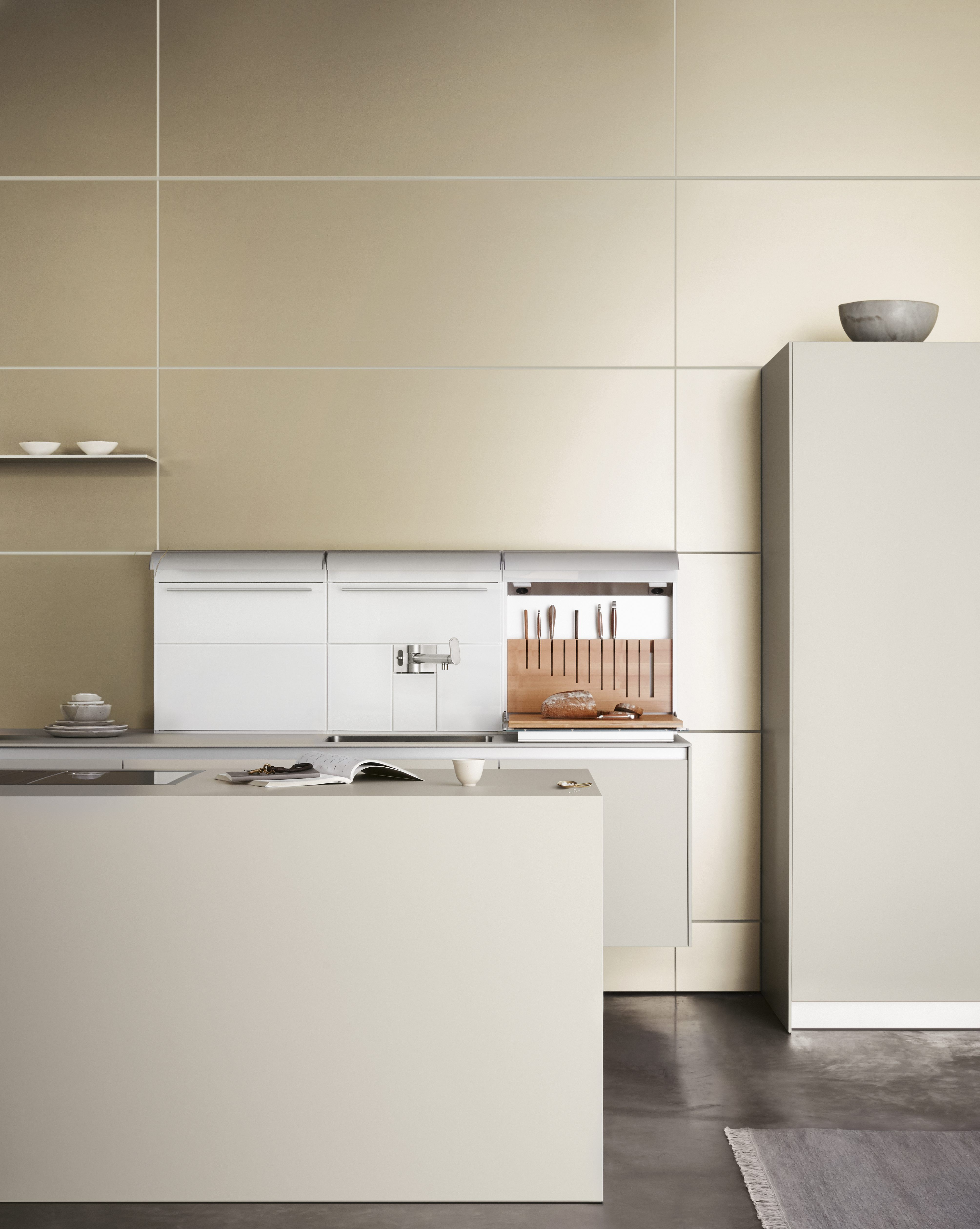 bulthaup b3E wall suspended & floor standing cabinets in laminate ...