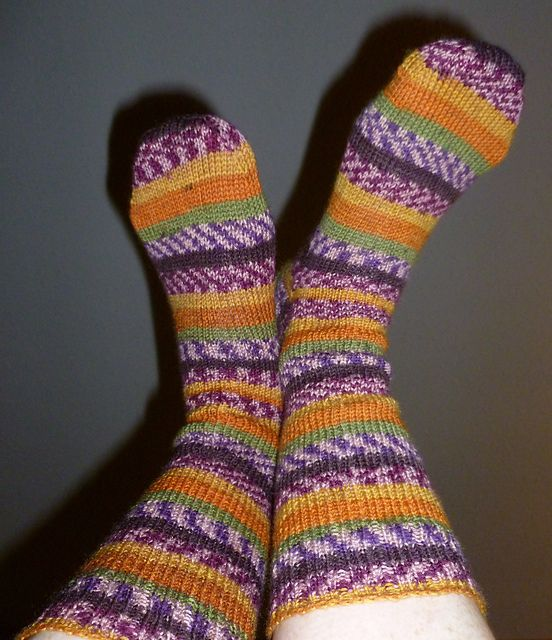 Ravelry: Simplest Socks for Beginners, free pattern by ...