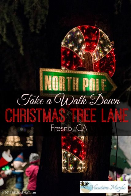 Take a walk down Christmas Tree Lane in Fresno, CA. A 92 yr old Christmas Tradition. | Christmas ...