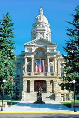 State Capitol building in Cheyenne, Wyoming  Visited here in